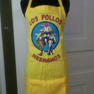 Other - NEW Breaking Bad Los Pollos Hermanos Apron